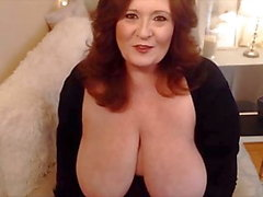 Voluptuous mature BBW with creamy pussy and dirty wish