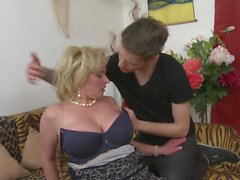 Hot milf and her younger lover 147