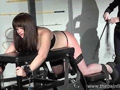 Lisas amateur spanking and rigid caning