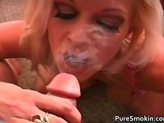 Brooke Rewards You With A Smoky BJ