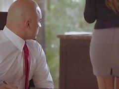 tushy Submissive secretary punished and sodomised