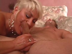 Mature woman craves young cock