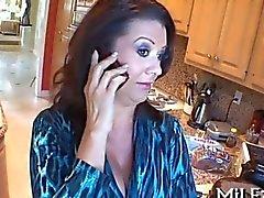 Cute brunette darling wants a long boner