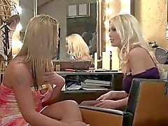 Great looking tranny with girl