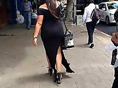 Pawg milf in dress