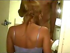 Sexy Strawberry Blonde Amateur Wife with Young Fit Hung Black Guy Pt 1