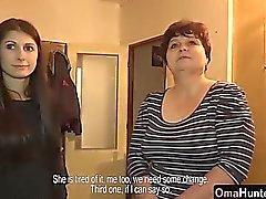 OmaHunter Reife Oma geprüft durch jugendlich