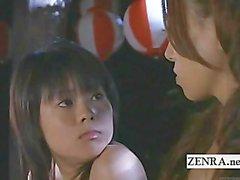 Subtitled Japanese nudist futanari blowjob confessional