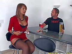 Attractive stressed brunette milf with smoking hot body in tight : Pornsharing adult tube