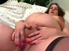 Foyer Pregnant Cums tout en Fingering