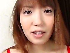 Pregnant asiatica si ingoia alcuni cum