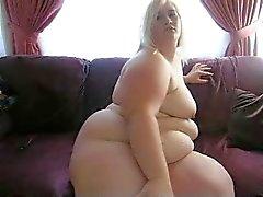 BBW blond on cam