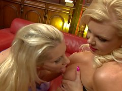 Sami J bends to have her pussy lips slapped fiercely in POV