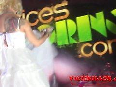 Nora Barcelona y Ratpenat wedding in SEB by viciosillos