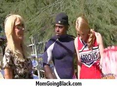 Busty Mom Fucks and Sucks a Huge Black Monster Cock 11