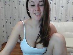 teen alanawolf blinkande bröst på live webbkamera