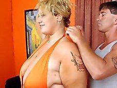 Blonda BBW - Femdom