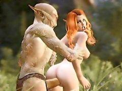 3D милашки загубленной жуткие монстры !
