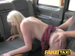 FakeTaxi Escort needs cock after close call