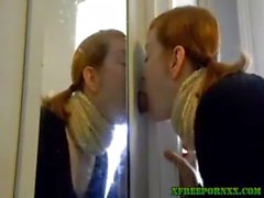 Homemade gloryhole bj swallow for amateur cou