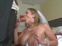 Alanah erhalten auf ihrer Hochzeitsnacht gefickt