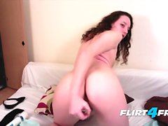 English Girl Nearby Tries Anal