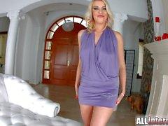 Allinternal Sexy blonde pounded hard