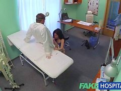 FakeHospital Doctor prescribes his cock to help relieve sexy patients back pain