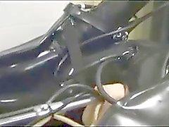 Vinculados máquina gata látex ferrado