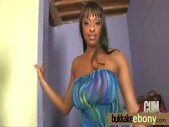 Ebony babe in group fucking 6