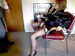 Kinky sex secretaris en haar baas