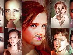 Emma Watson - Zusammenstellung meiner cum tributes x18 4k