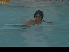 Kathleen Beller Nude Pool and Carol Willard Sex Scenes - The Betsy (1978)