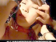 Sexe en groupe avec Hikaru Hinata