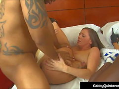 Mexi Milf Gabby Quinteros & Jamie Jackson Get Big Black Cock
