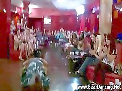 Real cfnm amateur party girls give stripper blowjobs