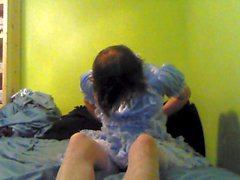 Sissy Dressing and Playing Part 1