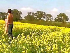 Nice meadow couple fuck