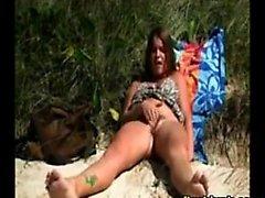 Clit Rubbing Girl Outside In Public