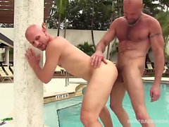 Chad Brock Bareback Fucks and Breeds Cole Sexton