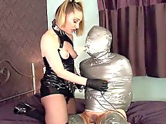 British femdoms cbt for submissive dude