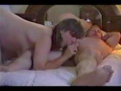 Pregnant wife tit fuck