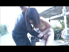 Japanese Girl Wet Moist Bald Pussy NJ00056
