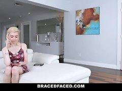 BraceFaced - Hosenträger Teen hart gefickt On First Date