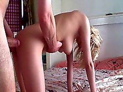 Girl(perfect tits) with Old Man - csm