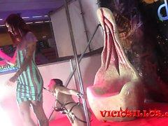 Show BDSM de silvia Rubi y Chiara Diletto SEB 2015