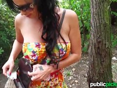 Mofos - Foreign teen gets pounded outdoors
