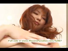 Risa Kasumi innocent ragazza cinese sta andando un cazzo duro