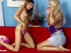Sensual Inserters by Sapphic Erotica lesbian love porn with Rikki Avril