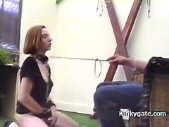 Homemade BDSM with my sex slave Silvie